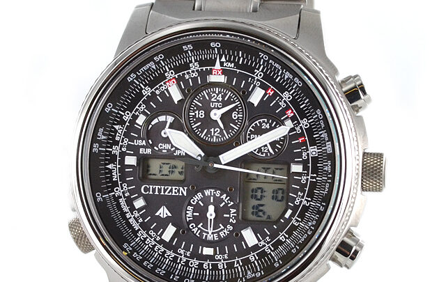 Citizen Super Pilot JY8020-52E